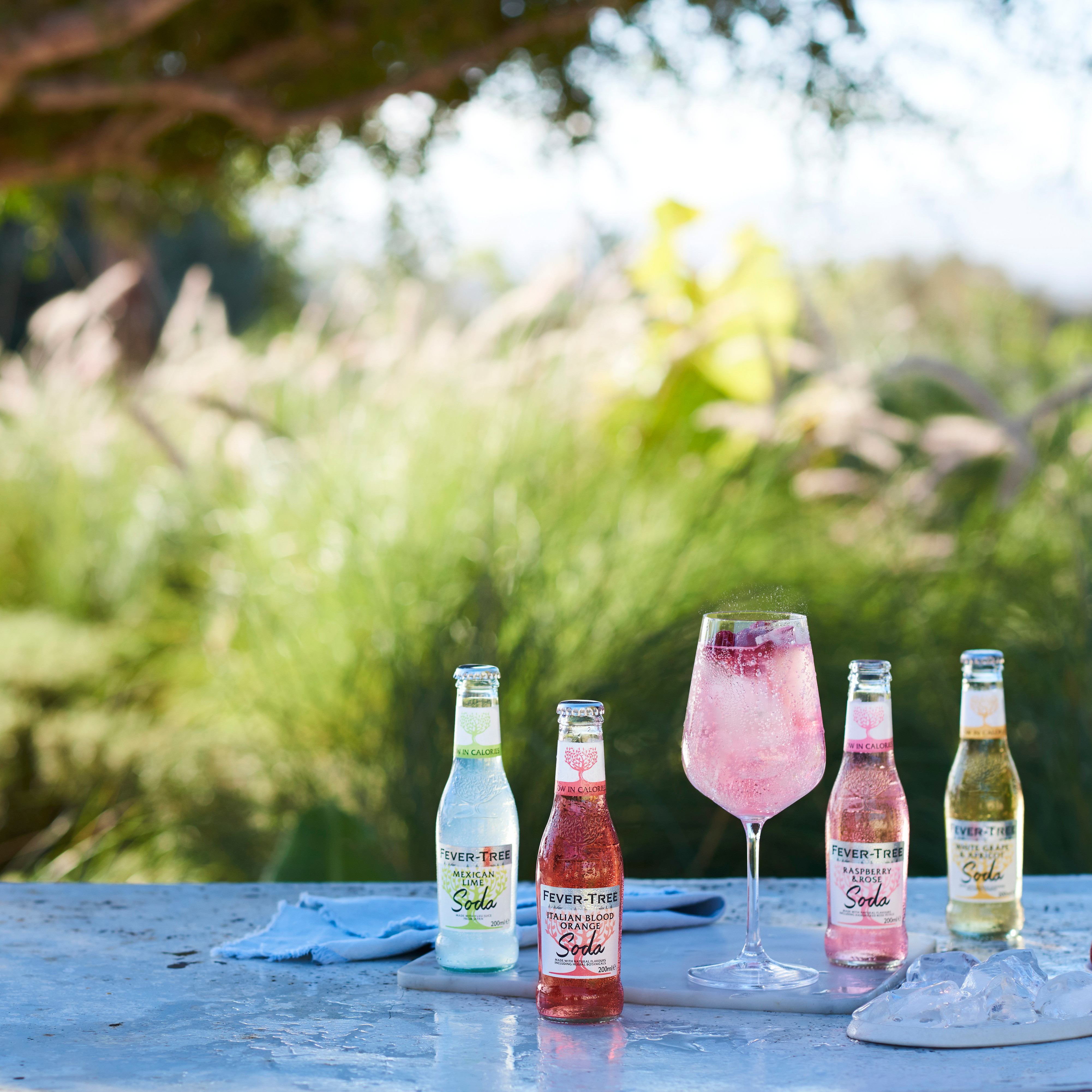 Summer Spritz with the Fever-Tree Soda Collection